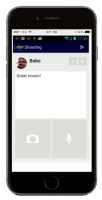 ZEW App - Share your thoughts, pics, audio with ZEW and your own followers on FB & Twitter