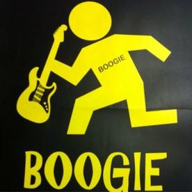 Hank Becker Boogie Chillin Shirt Logo