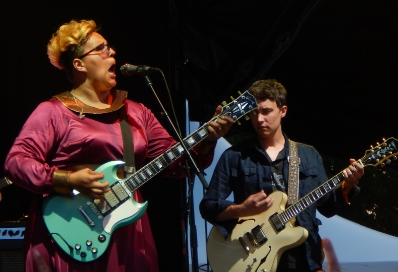 Alabama Shakes (Brittany, Heath) Bonnaroo 2015