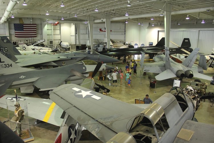 USS Alabama Battleship airplane museum