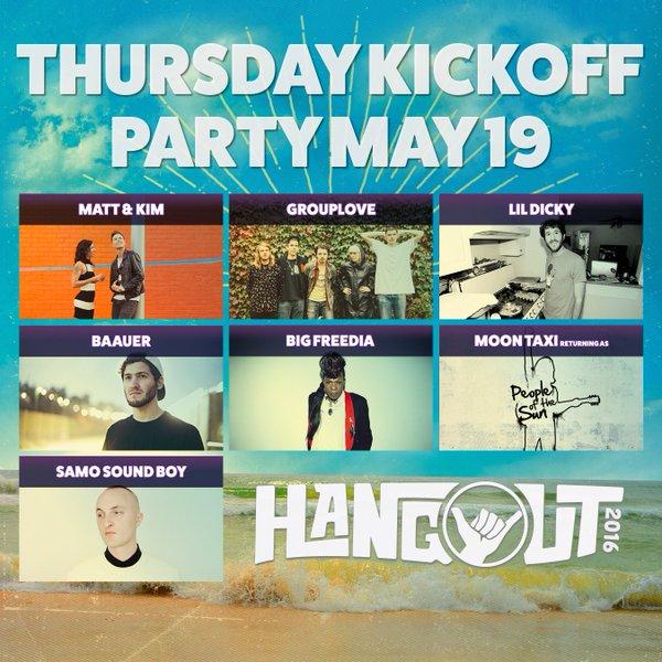 Hangout Festival 2016 Thursday