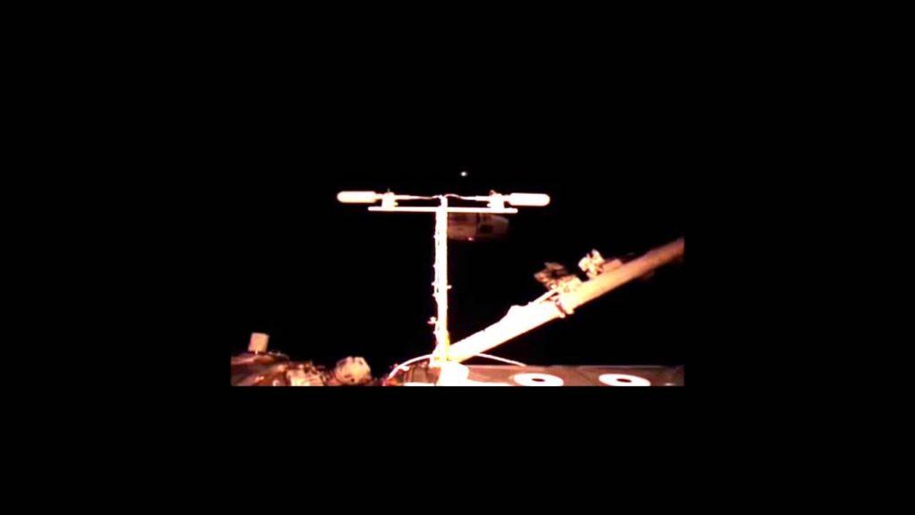 international space station UFO's