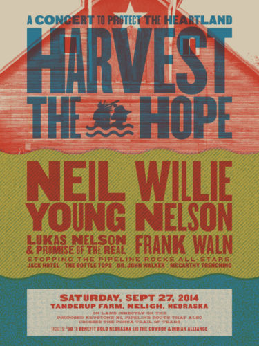 Neil Young and Willie Nelson To Play Nebraska Pipeline Protest Concert