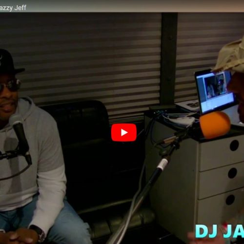 DJ Jazzzy Jeff interview with Tony at Hangout Festival