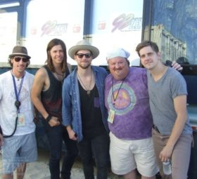 NEEDTOBREATHE with Gene Murrell, Hangout Festival 2014