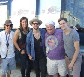 NEEDTOBREATHE with Gene Murrell, Hangout Festival 2014