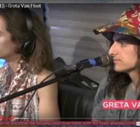 Greta Van Fleet ZEW Interview Hangout Festival
