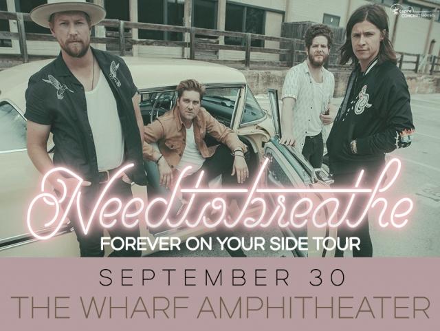 NeedToBreathe - Wharf 9/30