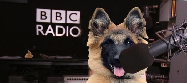 Colne Radio Eastenders dog dj