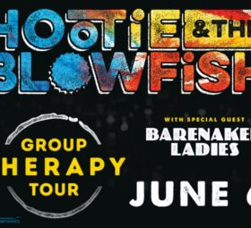 Hootie and the Blowfish, June 6 at the Wharf
